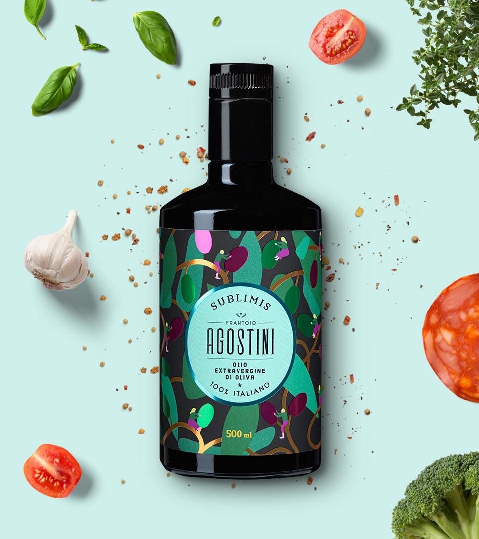 Agostini - Sublimis - Olio extravergine di oliva - 100% italiano